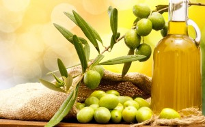 manfaat minyak zaitun dan kacang-kacangan