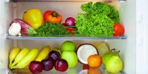 buah dan sayur dalam kulkas