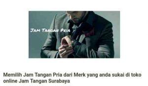 Permalink to Jam Tangan Pria Original Branded Terbaru dan Kw